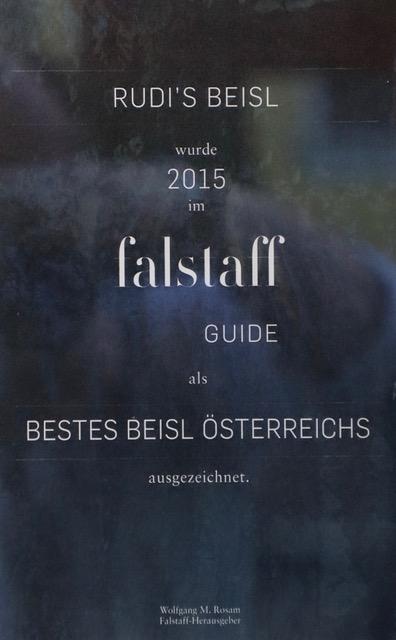 FALSTAFF Auszeichnung